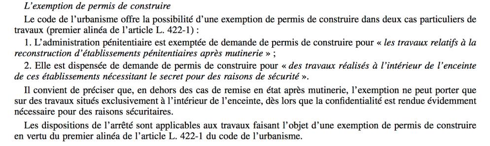 exemption PC